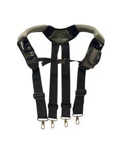 McGuire Nicholas BL-30290 ToolRider GSX Gel Foam Suspenders