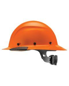 LIFT HDF-18OG DAX Hi-Viz Hard Hat Full Brim Orange