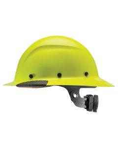 LIFT HDF-18HV DAX Hi-Viz Hard Hat Full Brim Yellow