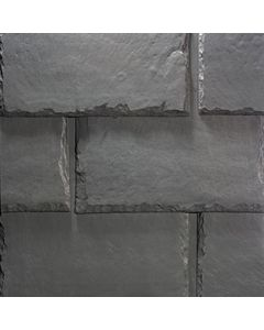 "EcoStar Majestic Slate Smoke Gray  12"" 25pc/bdl"