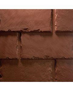 "EcoStar Majestic Slate Stone Red  12"" 25pc/bdl"