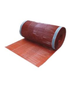 "Quarrix 227293 Universal Tile Ridge Vent 16'x11.75"" Venetian Red 1 Roll"