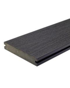 "NewTechWood US01-16-N-CH UltraShield Naturale Magellan Groove Composite Decking Board 1""x5.5""x16' Hawaiian Charcoal 1pc"