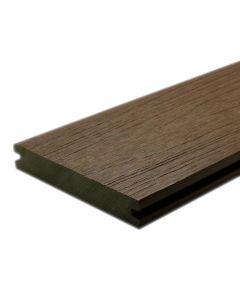 "NewTechWood US01-16-N-IP UltraShield Naturale Magellan Groove Composite Decking Board 1""x5.5""x16' Brazilian Ipe 1pc"