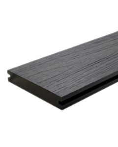 "NewTechWood US01-16-N-LG UltraShield Naturale Magellan Groove Composite Decking Board 1""x5.5""x16' Westminster Gray 1pc"
