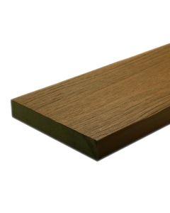 "NewTechWood US07-16-N-TK UltraShield Naturale Cortes Composite Decking Board 1""x6""x16' Peruvian Teak 1pc"