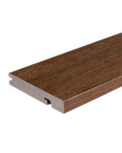 "NewTechWood US33-16-N-IP UltraShield Naturale Columbus Composite Decking Board 1""x6""x16' Brazilian Ipe 1pc"