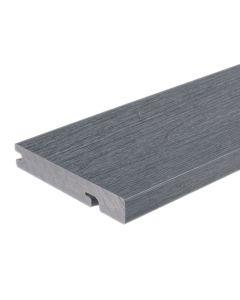 "NewTechWood US33-16-N-LG UltraShield Naturale Columbus Composite Decking Board 1""x6""x16' Westminster Gray 1pc"