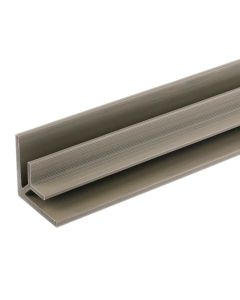 """NewTechWood US47-8-AT All Weather System Composite Siding Inner Corner Trim 2.8""""x2.8""""x8' Roman Antique 1pc"""