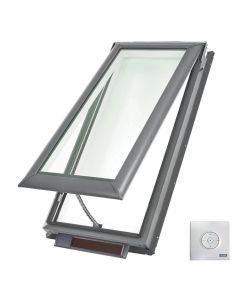 "VELUX VSS C06 2004 Skylight Solar Deck Mount Fresh Air Low E 21""x45 3/4"""