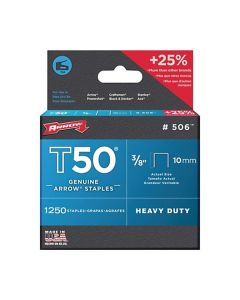 Arrow Staples 24x1250 count 3/8""