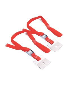"Super Anchor 1095 Leash Ladder Straps Red 2""x0.25"" x12"" 2ct"