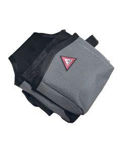 Super Anchor 6452 Tool Bag 2-Pouch All-Pakka Heavy Duty Black-Gray