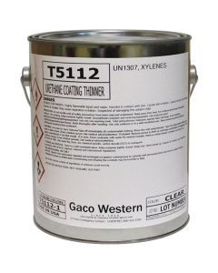 Gaco T5112 Urethane Coating Thinner Aromatic 1 Gallon