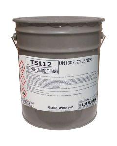 Gaco T5112 Urethane Coating Thinner Aromatic 5 Gallon