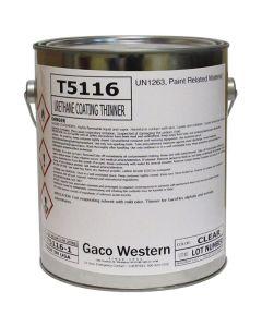 Gaco T5116 Urethane Coating Thinner 1 Gallon