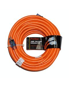 Century Wire Extension Cord 10/3 100' Orange