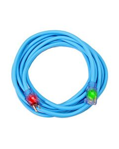 Century Wire Cold Weather Cord Rubber 12/3 50' Blue