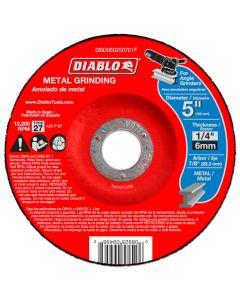 "Diablo Metal Grinding Abrasive Wheel 5""x1/4"""