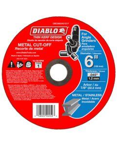 "Diablo Metal Cut Off Abrasive Wheel 6""x.045"""