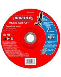 "Diablo Metal Cut Off Abrasive Wheel 7""x1/16"""