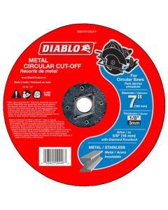 "Diablo Metal Cut Off Abrasive Wheel 7""x1/8"""