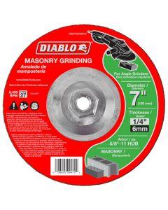 "Diablo Masonry Grinding Abrasive Wheel 7""x1/4"""