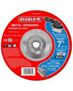 "Diablo Metal Grinding Abrasive Wheel 7""x1/4"""