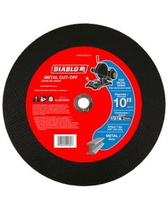 "Diablo Metal Cut Off Abrasive Wheel 10"""
