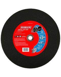 "Diablo Arbor Hi Speed Metal Disk 12""x1/8""x1"""