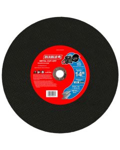 "Diablo Arbor Hi Speed Metal Disc 14""x1/8"""