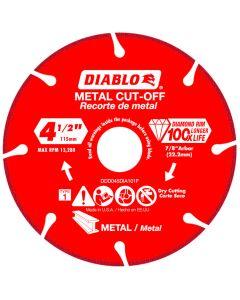 "Diablo Diamond Disc Metal Cut Off Wheel 4 1/2"""