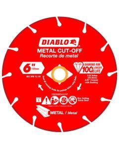 "Diablo Diamond Disc Metal Cut Off Wheel 6"""