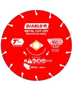 Diablo Diamond Disc Metal Cut Off Wheel 7""