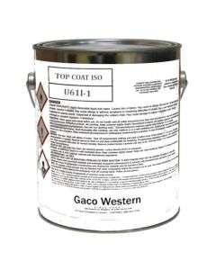 Gaco U64 Urethane Coating ISO Side 1 Gallon