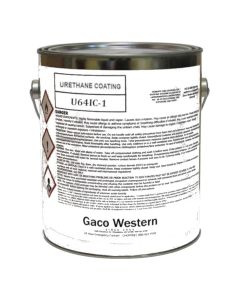 Gaco U64 Urethane Coating ISO Side Low VOC 1 Gallon