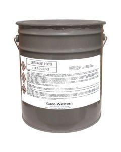 Gaco UA7090P Clear Urethane Aliphatic Polyol 5 Gallon