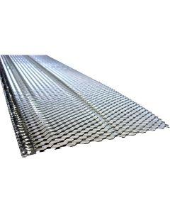 "US Aluminum 5SCRN Aluminum Screen Gutter Protection 5""x4' 50ct"