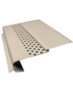 US Aluminum GSHBRONZE25 Gutter Shelter High Flow Bronze 4' 25ct