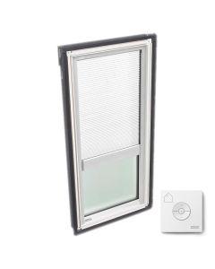 """VELUX FS C08 2004FS00X Skylight with Solar-X Blinds 21""""x54 7/16"""" White"""