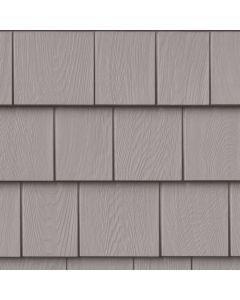 "Grayne 7.5"" Red Cedar Shingle Siding Heritage Grey 8.5""x60.75"" 32ct"