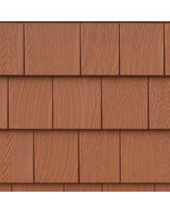 "Grayne 7.5"" Red Cedar Shingle Siding Treated Cedar 8.5""x60.75"" 32ct"