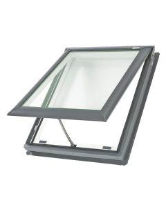 "VELUX VS S06 0004 Skylight Deck Mount Fresh Air Low E Stain Grade Wood 44 1/4""x45 3/4"""