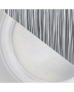 """VELUX ZTB 014 4006US Sun Tunnel Diffuser Brushed Metal 14"""""""