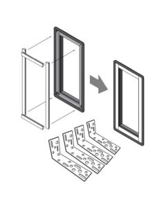 VELUX ZZZ 238 C08 Skylight Replacement Kit Deck Mount