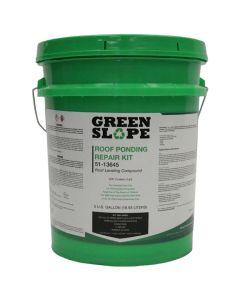 Green Slope Roof Ponding Repair Kit 5 Gallon