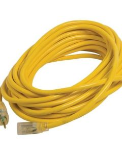 Century Wire Extension Cord 14/3 25' Yellow